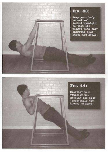 Convict Conditioning Vertical Pullup