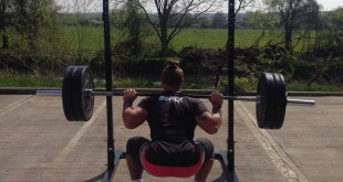 Will Harvey outdoor squat